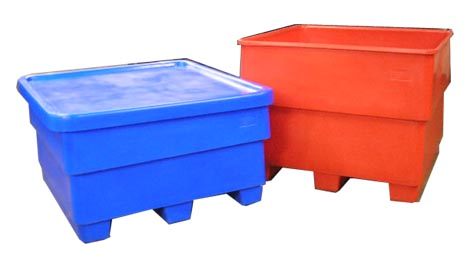 Nesting Pallet Containers Bayhead Products