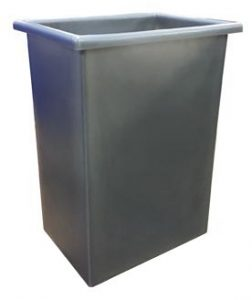 Straight-Sided Tall Container